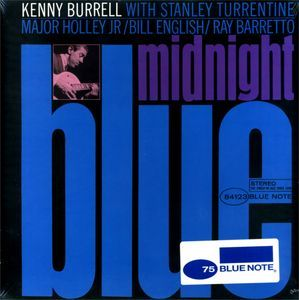 #FS Kenny Burrell - Midnight Blue #Vinyl LP on #BlueNote Records // $25.95 @ http://www.discogs.com/sell/item/260619854 #Discogs #KennyBurrell #ForSale #Jazz