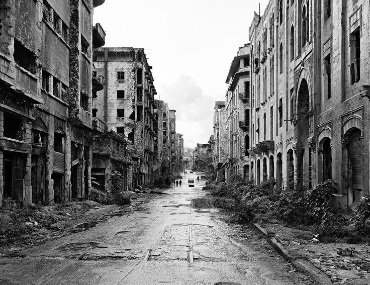 Beyrouth après la guerre par Gabriele Basilico