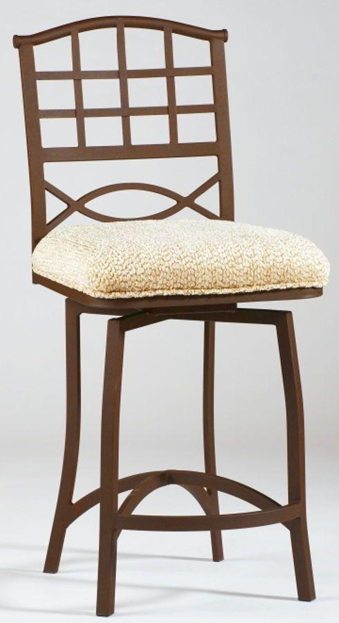 Wrought Iron Memory Return Swivel Bar Stool Anita-Bs  sc 1 st  Pinterest & Best 25+ Wrought iron bar stools ideas on Pinterest   Welding ... islam-shia.org