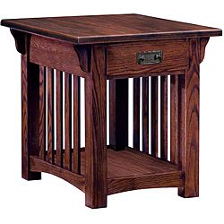Nickel Finish End Table With Beveled Glass Top
