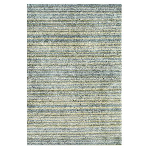 Tufted Blue Area Rug Remodel Beach House Striped Rug