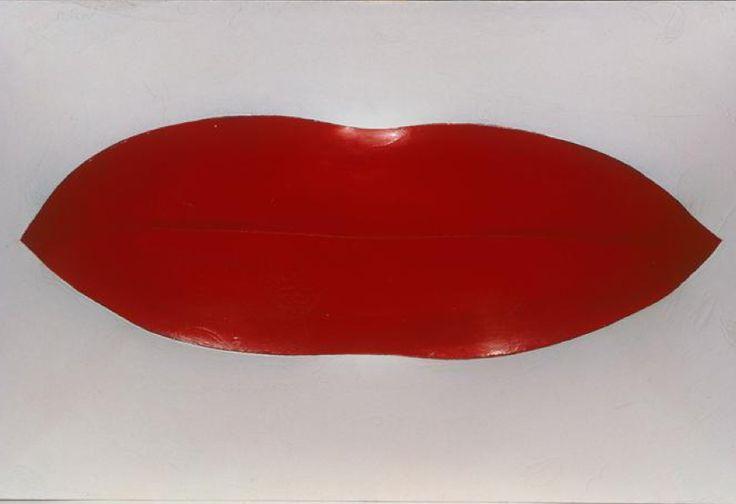4 - Pino Pascali, Labbra rosse (red lips) 1964
