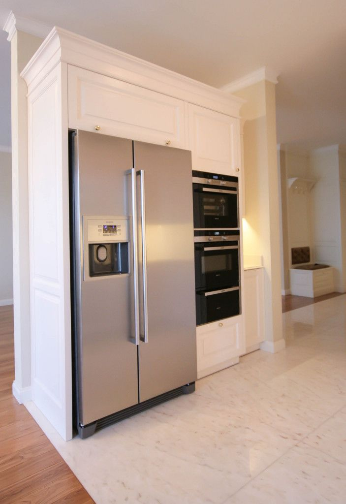 zabudowa sprzętu kuchnia klasyczna angielska, kuchnie angielskie na wymiar, classic white kitchen  - wykonanie Artystyczna Manufaktura
