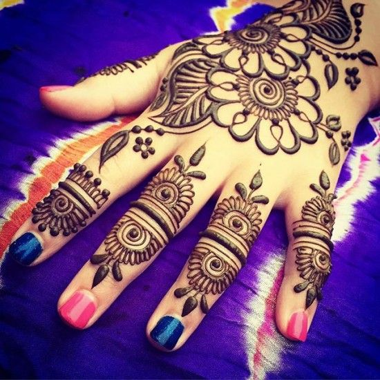 New Mehndi Designs for Festival