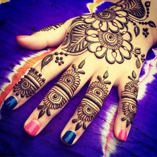 New Mehndi Designs for Festival