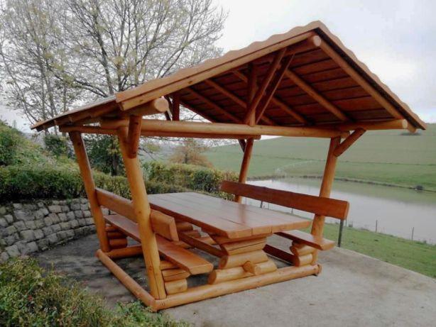 Foisor Rustic De Gradina Mobilier De Terasa Si Gradina Suceava Olx Ro Gazebo Outdoor Structures Outdoor