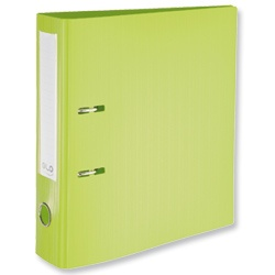 Product 103309, Description: GLO Lever Arch File Polypropylene A4 Green [Pack 10]