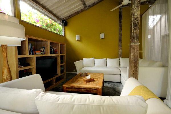 Comfortable and spacious living room in Villa Adagian #Bali #luxuryvilla #luxurylife villa adagian living room tv