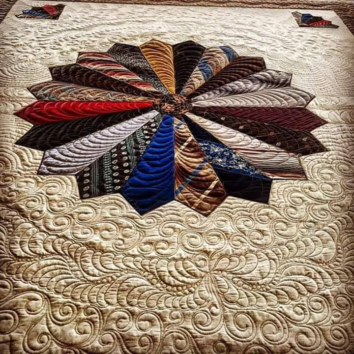 17 best images about necktie quilt ideas on pinterest for What to do with an old quilt