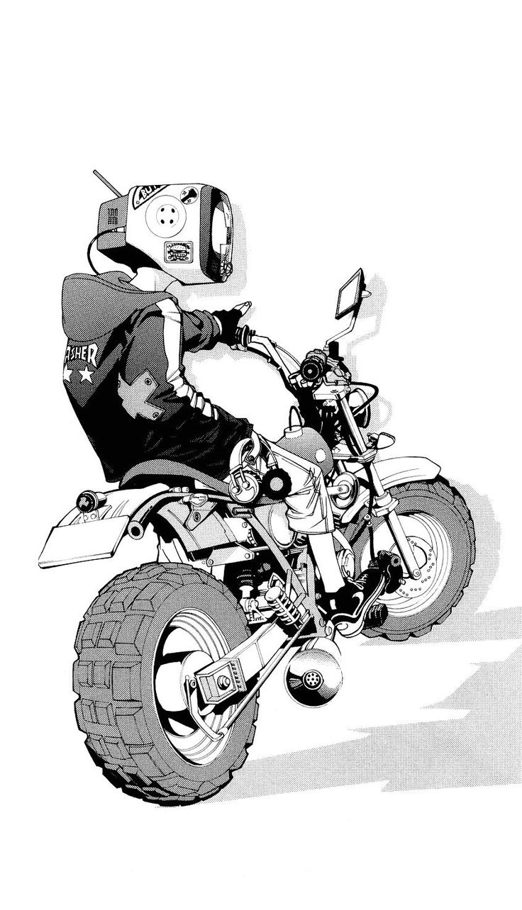 DJ Plugman from Air Gear manga - art by Ito Ōgure also know as Oh! great