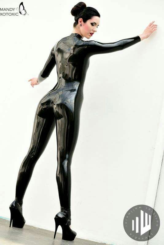 Latex catwoman outfit