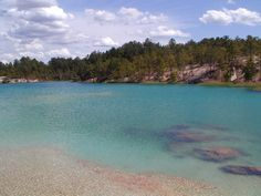 Blue Lagoon in Huntsville Texas. Snorkeling, scuba diving and camping!