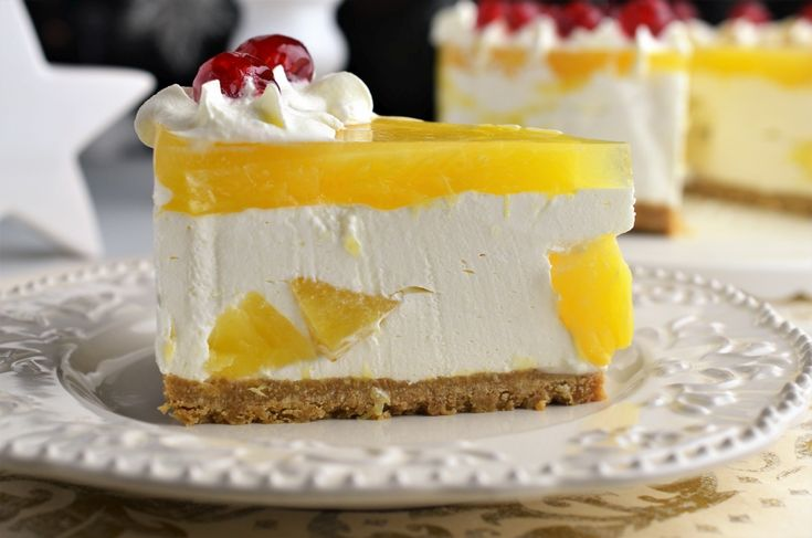 Tort cu ananas (fara coacere)