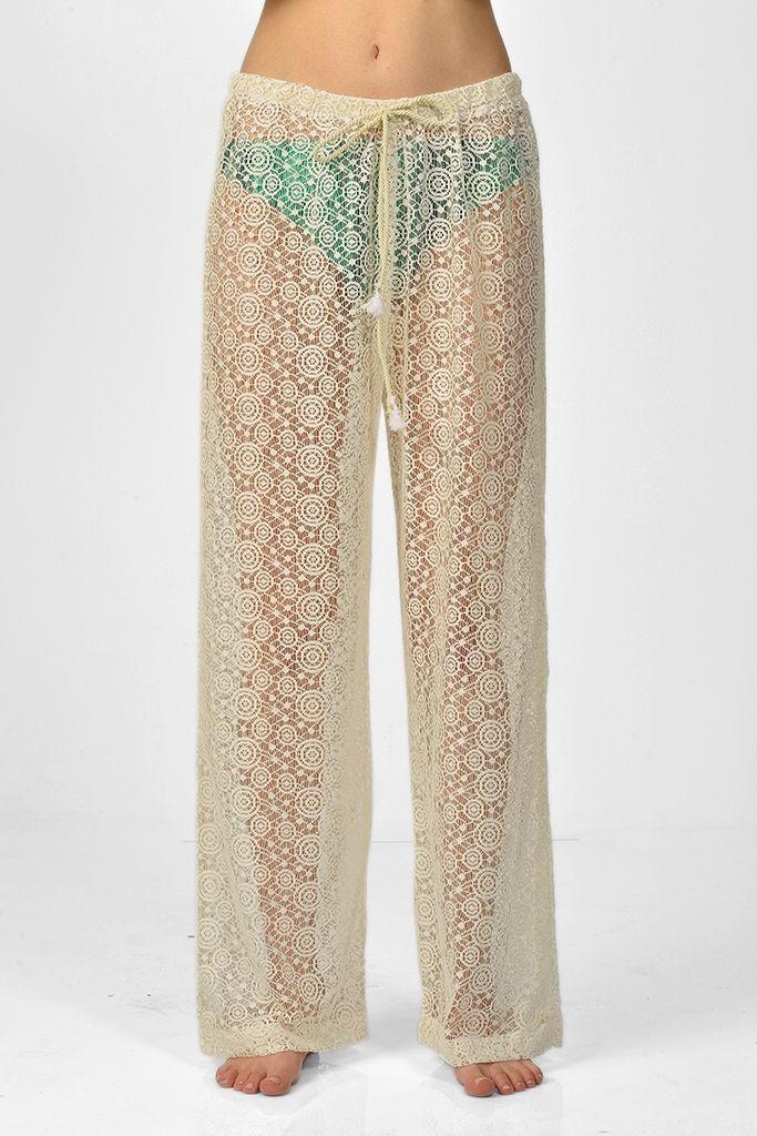 Sanriani Plaj Pantolonları/Behati | Plaj Elbiseleri | Moda Fabrik
