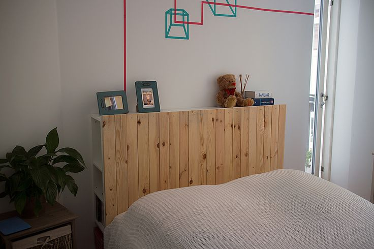 Brimnes Headboard Hack. Would LOVE to cover this in come lazer-etched wood paneling!