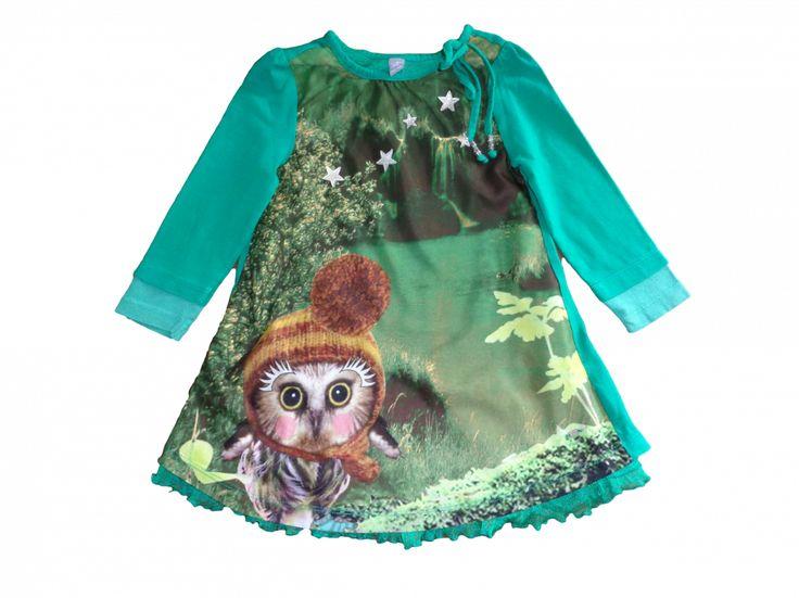 Super mooie herfs jurk van Jilly!