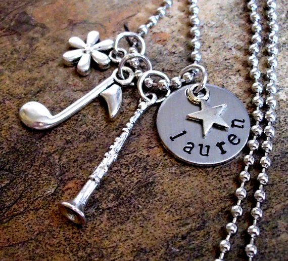 Hey, I found this really awesome Etsy listing at https://www.etsy.com/listing/122513758/personalized-music-necklace-clarinet