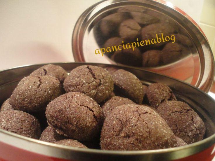 Biscotti+morbidi+al+cioccolato+(ricetta+tradizionale+e+bimby)
