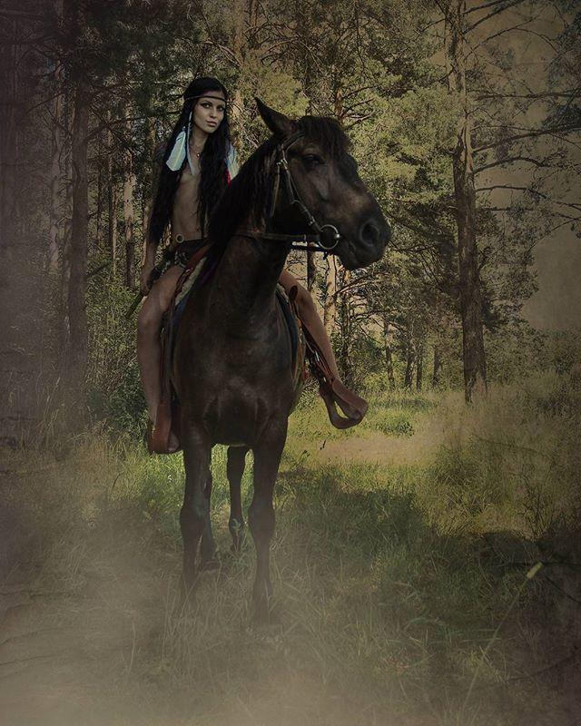 Картинки амазонки на лошади