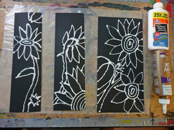 that artist woman: Chalk Pastel Sunflowers.  Another site shows the difference between pastels and regular chalk.
