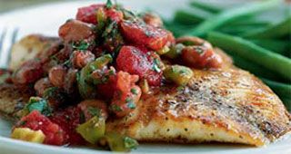 Veracruz-Style Red Snapper Recipe | MyRecipes.com