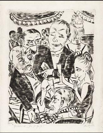 """""""Expresionismo alemán: El impulso gráfico"""". Antológica en el MoMA de Nueva York"""