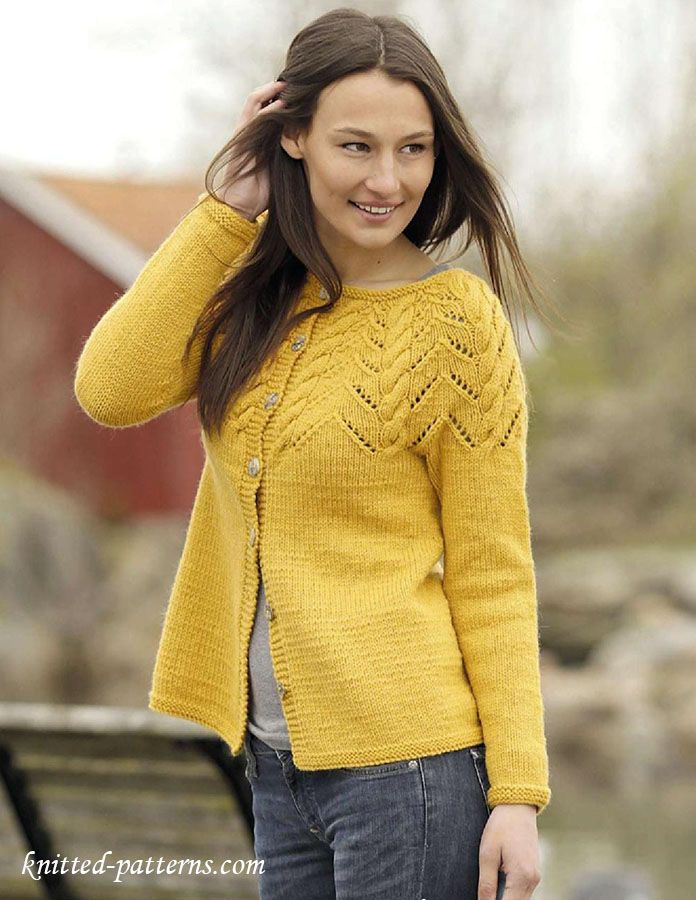 1297 best knitting sweaters images on Pinterest | Knitting ...