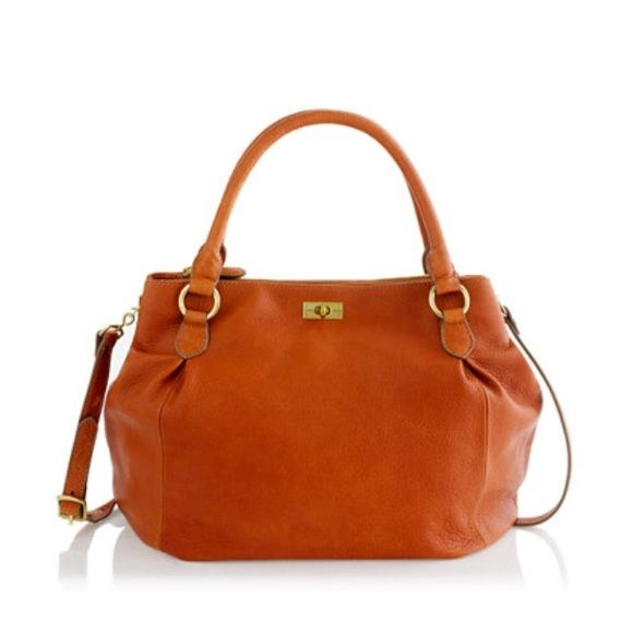 Brompton Leather Hobo Super cute and functional! I love that there are multiple pockets. Definitely used but in great shape other than some darkening on the long leather strap (shown). J. Crew Bags Hobos