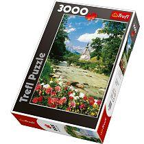 Trefl, Ramsau, Alpy Bawarskie - Niemcy, puzzle, 3000 elementów