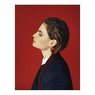 Affiche A2 Christine & the Queens - Rouge