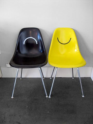 a chair to reflect your mood.