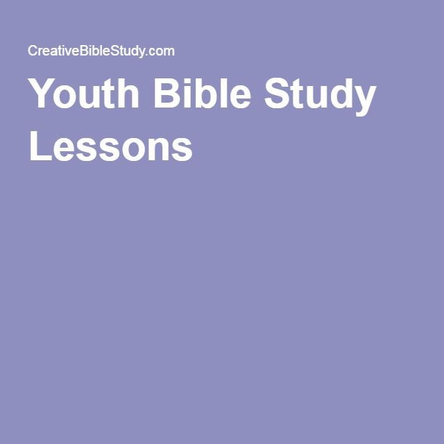 Youth Bible Study Lessons based on movies
