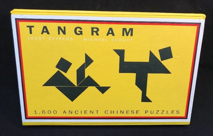Chinese Tangram 1600 Ancient Chinese Puzzles Barnes & Noble Puzzle Book Game #BarnesAndNoble