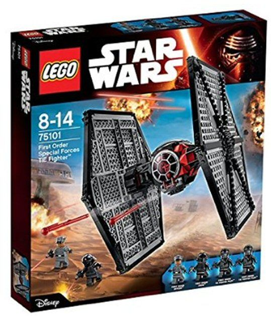 Lego 75101 Star Wars U2013 First Order Special Forces TIE Fighter™   Happy E
