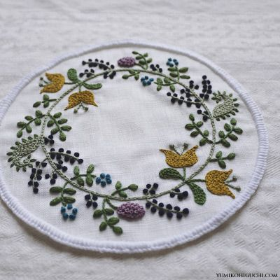 yumiko higuchi blog - embroidery artist