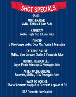 memorial day bar specials boston
