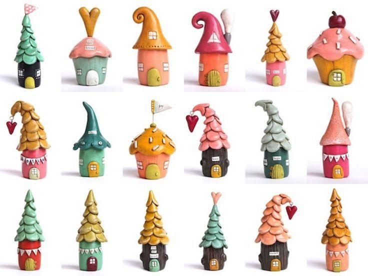 120 einfach zu versuchen diy Fimo-Garten Ideen aus Fimo (43