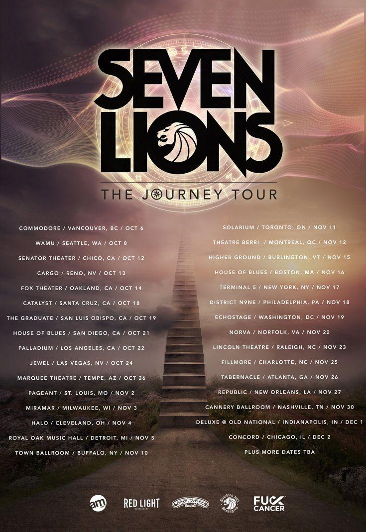 Seven Lions Announces The Journey Tour Dates #SevenLions #TheJourneyTour