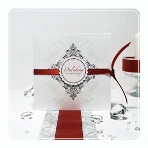 Klassisch Modern   Stilvolle, Elegante Einladungskarte Zur Hochzeit
