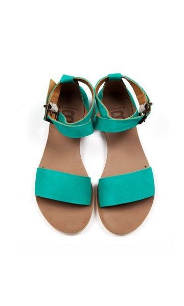 Turquoise sandals Bensimon
