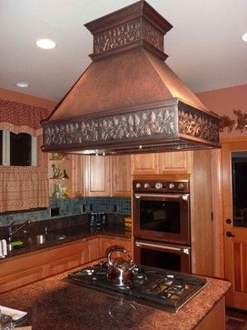 Copper Range Hoods Traditional Kitchen Hoods And Vents