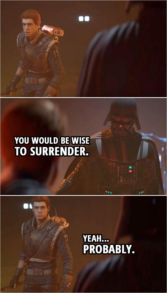40 Best Star Wars Jedi Fallen Order Quotes Scattered Quotes In 2020 Star Wars Jedi Star Wars Fallen Order Star Wars