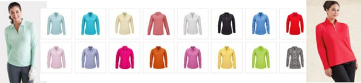 While good ole sunblock can work wonders in protecting our skin from the harmful UV rays, it won't hurt to add more layer just to be on the safe side. The Cool Elements Long-Sleeve Polo with collar has built-in sun protection features that all golf aficionados would surely love. #golf #fashion #summer #ootd #lorisgolfshoppe