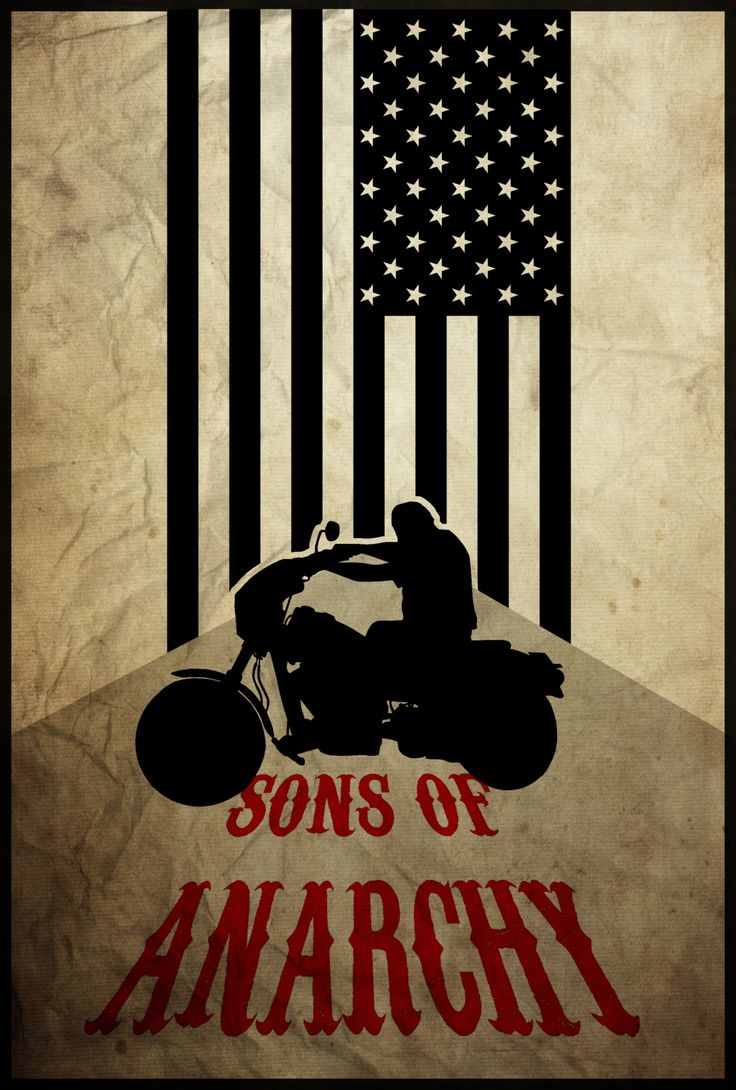 for the club sons of anarchy poster by edwin julian. Black Bedroom Furniture Sets. Home Design Ideas