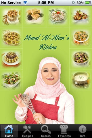 Get Manal Alalem's cooking application in English