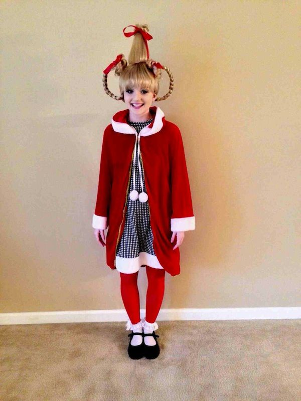 Adorable Cindy Lou Who Cosplay