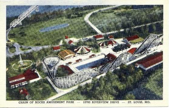 Chain of Rocks amusement parkSt Louis, Remember, Postcards Chains, Rocks Parks, Rocks Amusement, Parks Photos, Amusement Parks, Louis Memories, Louise Mi Hometown