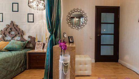 Зонирование комнаты шторами - идеи разделения комнаты на две зоны