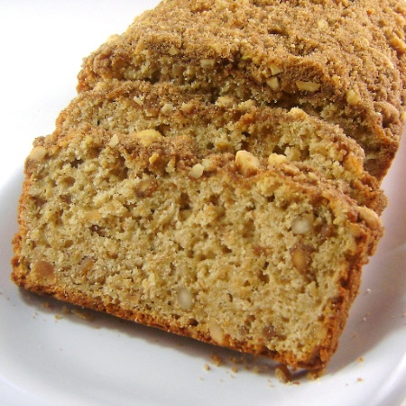 Peanut butter bread, Streusel topping and Peanut butter on Pinterest