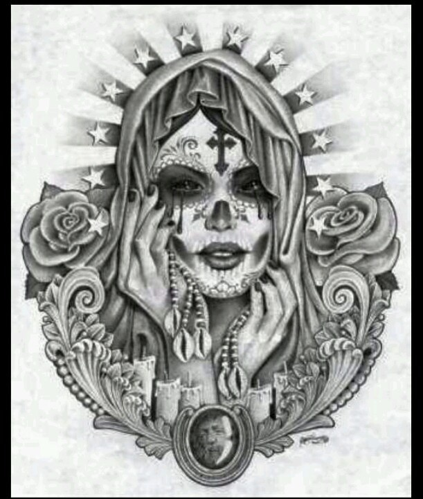 8 best images about inspi santa muerte on pinterest santa muerte coloring pages and dia